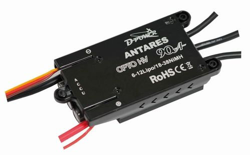 D-Power Antares 90A Opto HV Brushless Regler